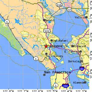 greenbrae california ca population data races