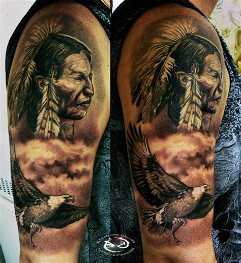 eagle tattoo native american native american by dalliertattoo on deviantart
