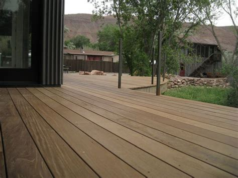 Ipe Decking Project in Utah by Del Ray Construction