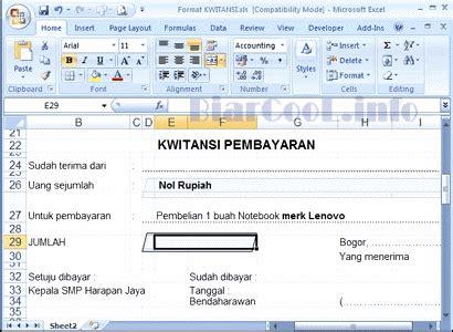 format php adalah download contoh kwitansi pembayaran excel sale banner
