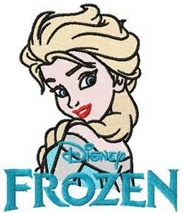 elsa machine embroidery designs elsa machine embroidery design