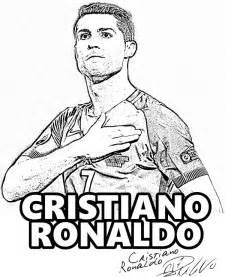 free coloring cristiano ronaldo portugal madrid