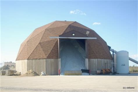 Dome Barn Will County Highway Department Salt Barn Crest Hill Il