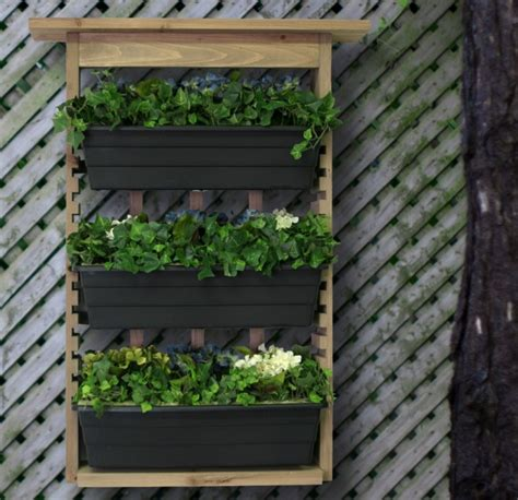 vertical wall planters vertical living wall planter