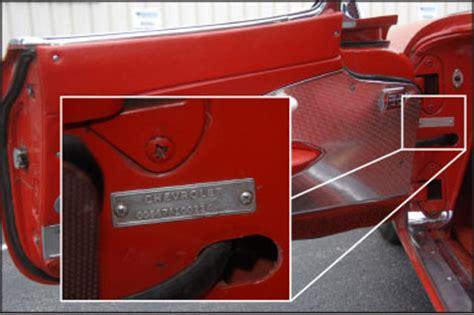 1979 corvette vin decoder frame rail identification chart chevrolet autos post