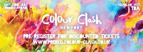 color clash colour clash newport tickets and events fatsoma