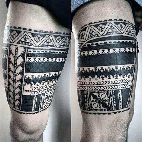 upper leg tattoos for men best 25 thigh ideas on skull