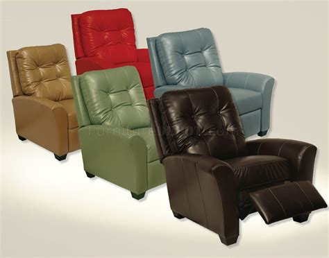 modern reclining chair choice of color modern braxton reclining chair
