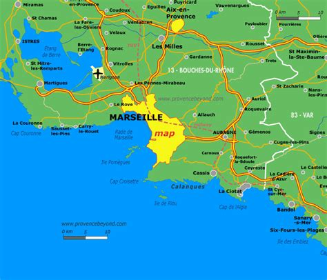 map of marseille marseille area map by provence beyond