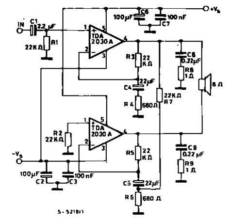 Power Lifier Pl 9001 tda2040 lifier schematic circuit tda2040 get free