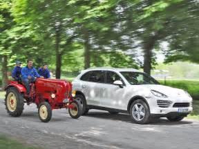 Porsche Traktor Kaufen by Porsche Diesel Cayenne Und Junior Traktor Autozeitung De