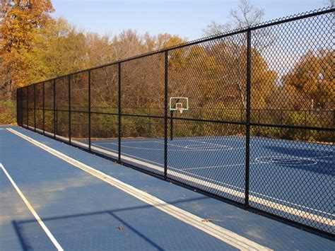 Football Fence Commercial by Athletics Fencing Installations Baseball Field Tennis