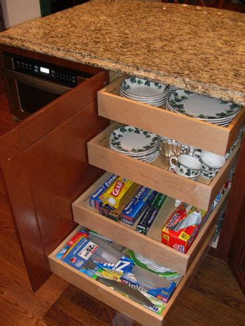 How To Put Drawers In A Cabinet by Easy Access Cabinet Drawer Ask The Builderask The Builder