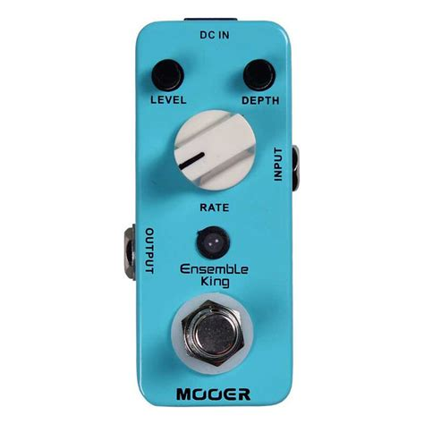 mooer ensemble king pedal efecto guitarra