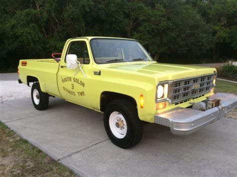 1978 chevy 3 4 ton 4x4 truck 1978 chevy 4x4 3 4 ton 8900 original miles for sale