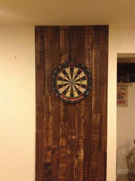 reclaimed wood dartboard pallet dart board backing darts dart board and pallets