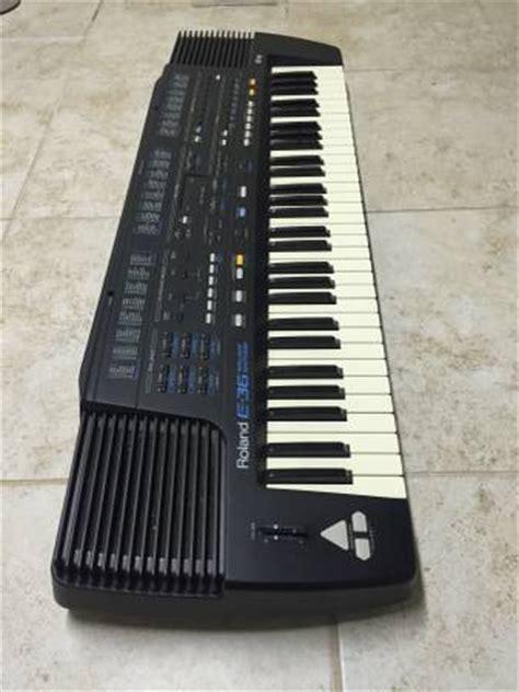 Keyboard Roland E36 roland e36 and 2 sound cards port nolloth co za