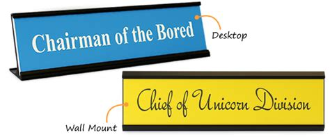 funny desk name plates funny nameplates creative desk name plates and desk