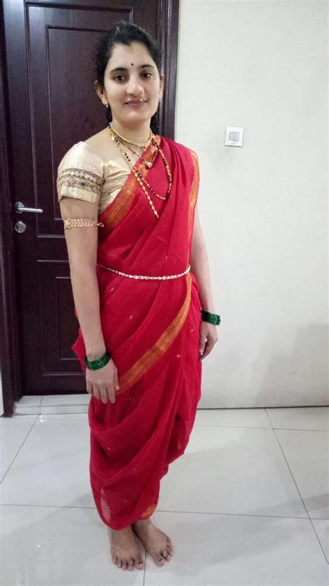 tight saree draping 7stylesareechallenge week 3 maharashtrian style saree