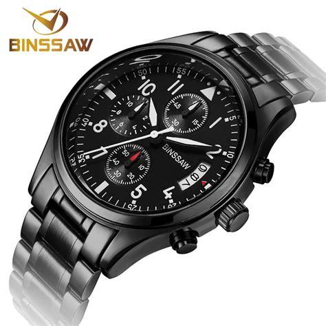 Jam S Us Fashion Luxury Stainless Steel Sport Analog Quartz binssaw new watches original luxury fashion business stainless steel luminous