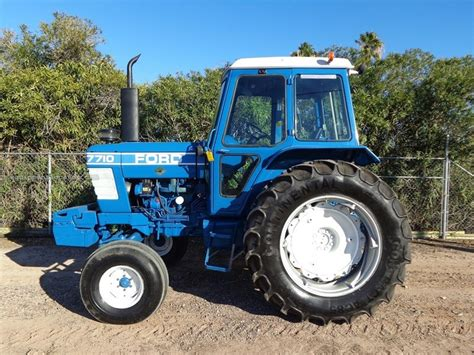 Ford Tractor Dealer Locator 1982 Ford 7710 Tractor For Sale At Equipmentlocator