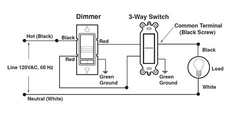 leviton 3 way dimmer wiring diagram way free