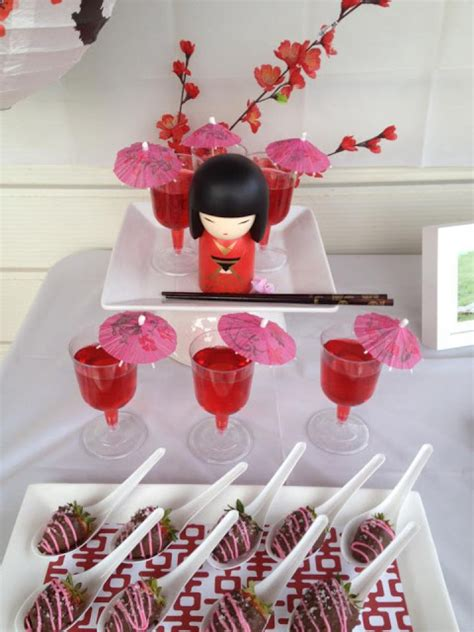 japanese themed birthday party todi customer parties kokeshi doll japanese theme