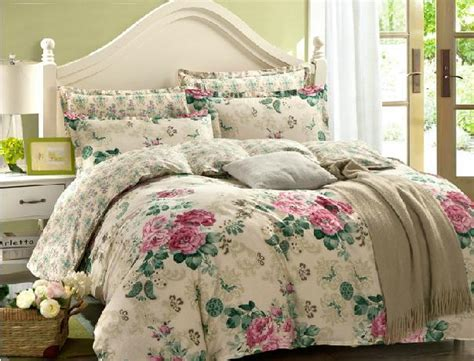 Promo Miyo 3pc Bedong Cotton fushica and osyter flowers duvet cover flat sheet