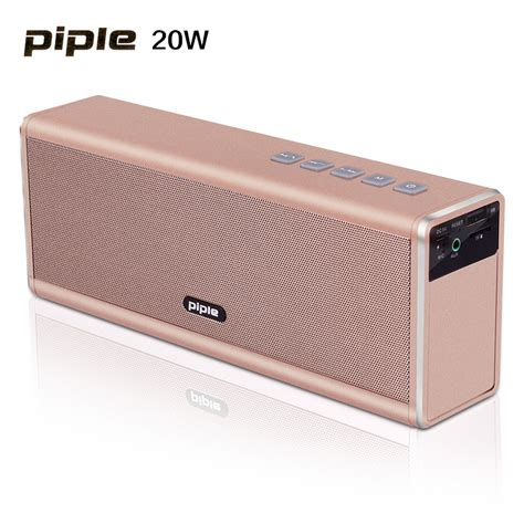 Powerbank Bass Bluetooth Speaker 4000 Mah 20w piple s5 speaker dual 10w power bank portable mini bluetooth speaker 4000mah rechargeable