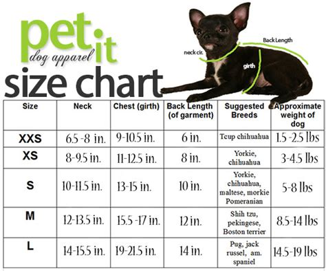 puppy size chart size chart by weight high quality costume mardi paws costumes mardi