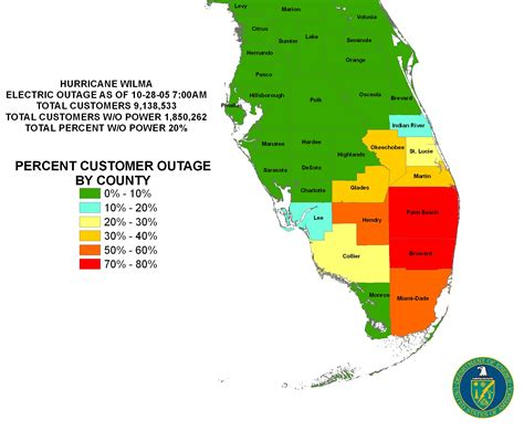 power outage map florida iser gulf coast hurricanes
