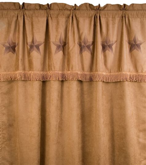 rustic lone curtain