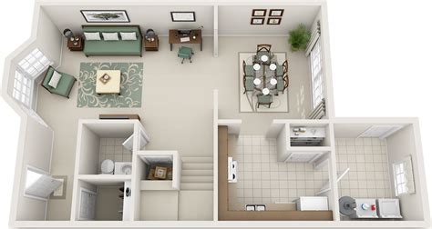 three bedroom floor plans charleston hall apartments