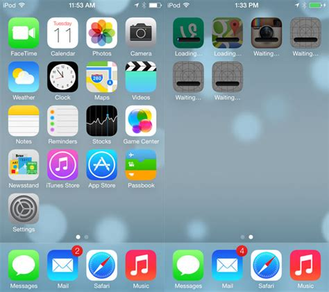 pics for gt iphone 6 home screen layout
