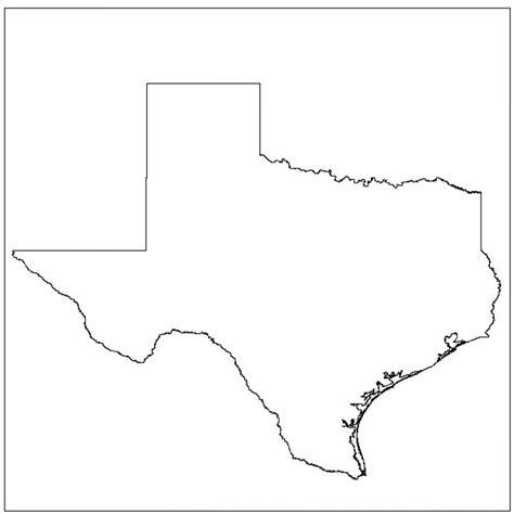 map of texas printable printable texas maps