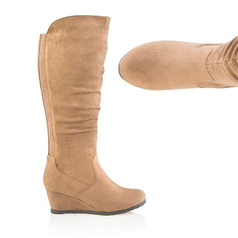 cushion walk comfort wedge boot 347759 ideal world