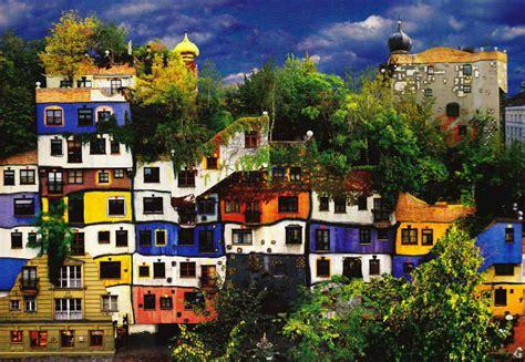 House Color Ideas by Biography Of Friedensreich Hundertwasser Widewalls