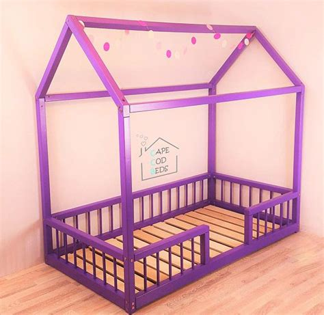 Montessori Bed Frame 8 Best Floor Montessori Bed Images On Montessori Bed House Beds And Room