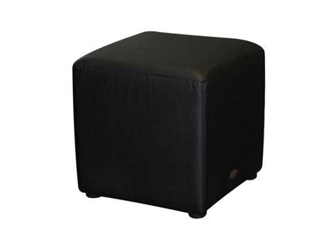 Black Cube Ottoman Square Ottoman Cafe Furniture