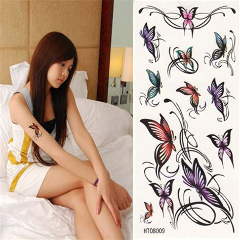 design a temporary tattoo beautiful butterfly temporary design