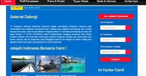 Jual Lu Sorot Kapal tutorial cara mendaftar atau booking tiket kapal pelni secara seputar kapal