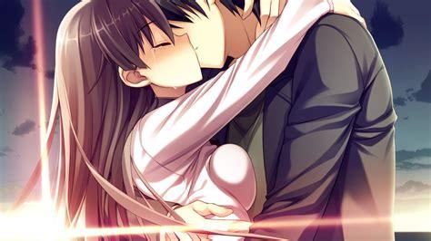imagenes de anime love kiss anime kiss fondos de pantalla gratis para widescreen