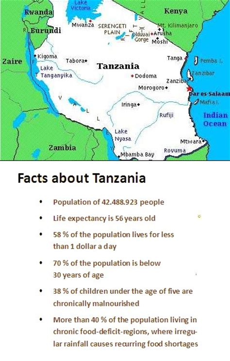 facts about punch hunger facts about tanzania