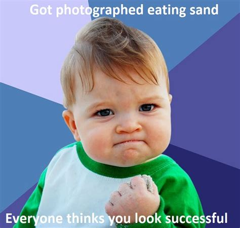 fresh success baby memes thatll   cry laughing