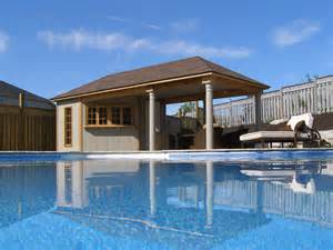 Pool Houses And Cabanas Pool Cabana Plans That Are Perfect For Relaxing And