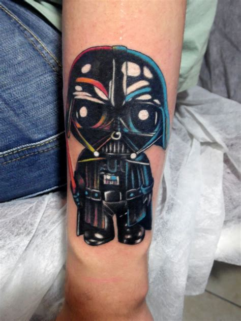vader tattoo by yavuz simgeci studio darth vader bu