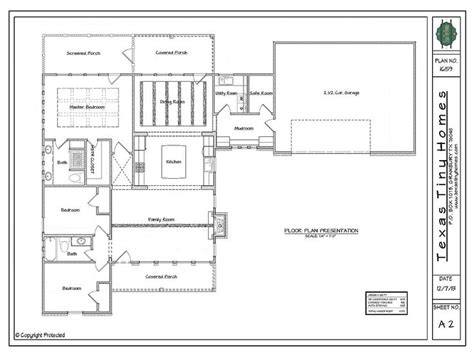 safe room floor plans texas tiny homes specializes in designing and building one