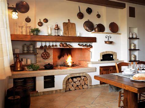 caminetti da cucina cucina in muratura 70 idee per cucine moderne rustiche