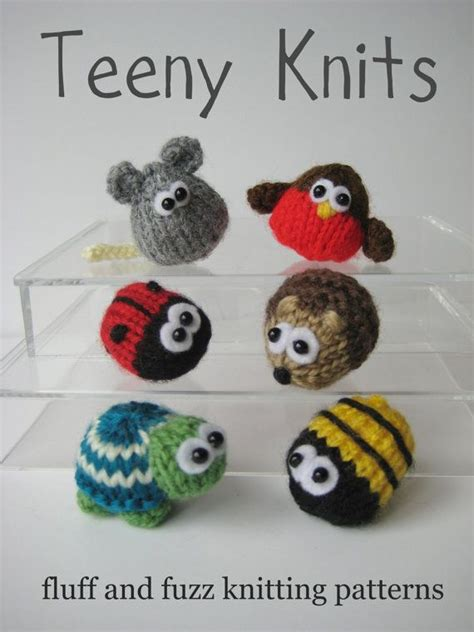 905 Best Teenie Tiny Knitting Projects Images On