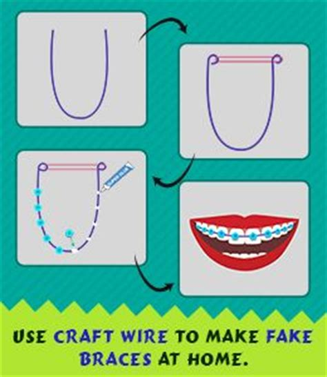 How To Make Your Own Temporary Without Paper - 25 best ideas about braces on